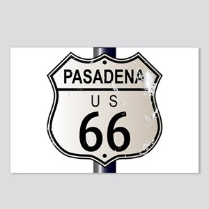 Pasadena Route 66 Sign Postcards (Package of 8)