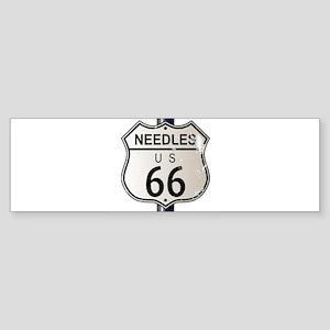 Needles Route 66 Sign Bumper Sticker