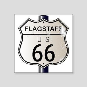 Flagstaff Route 66 Sign Sticker