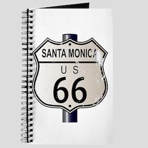 Santa Monica Route 66 Sign Journal