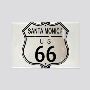 Santa Monica Route 66 Sign Magnets