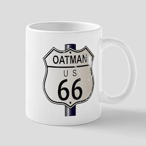 Oatman Route 66 Sign Mugs