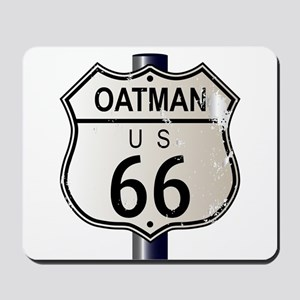 Oatman Route 66 Sign Mousepad