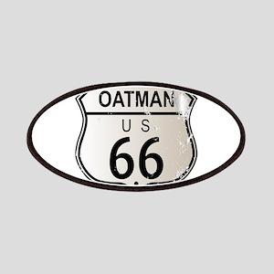 Oatman Route 66 Sign Patch