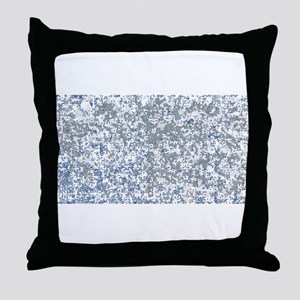 Dotted Background Throw Pillow