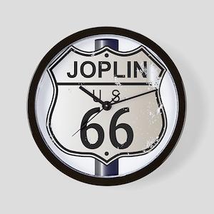 Joplin Route 66 Sign Wall Clock