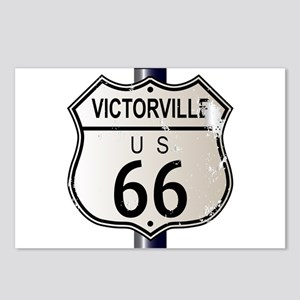Victorville Route 66 Sign Postcards (Package of 8)