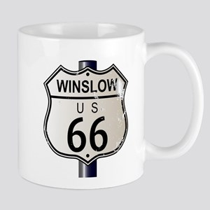 Winslow Route 66 Sign Mugs