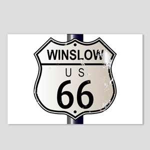 Winslow Route 66 Sign Postcards (Package of 8)