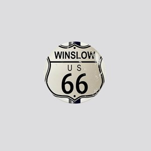 Winslow Route 66 Sign Mini Button
