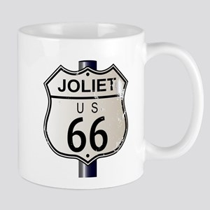 Joliet Route 66 Sign Mugs