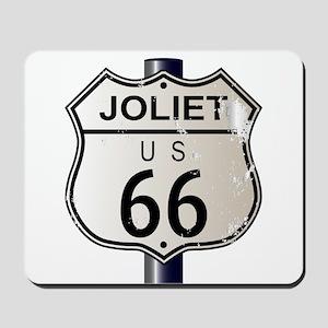 Joliet Route 66 Sign Mousepad