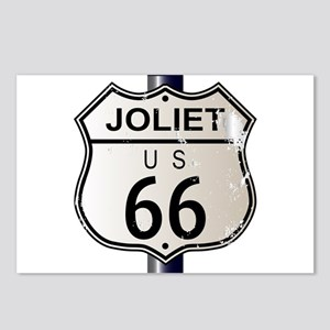 Joliet Route 66 Sign Postcards (Package of 8)