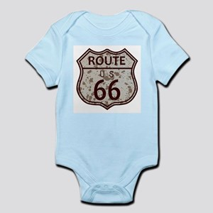 Weathered Route 66 Sign Body Suit