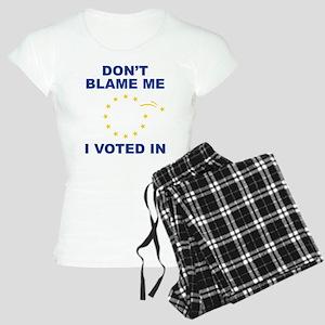 Don't Blame Me Women's Light Pajamas