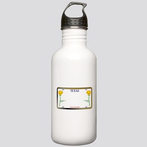 Texas Yellow Rose Lice Stainless Water Bottle 1.0L