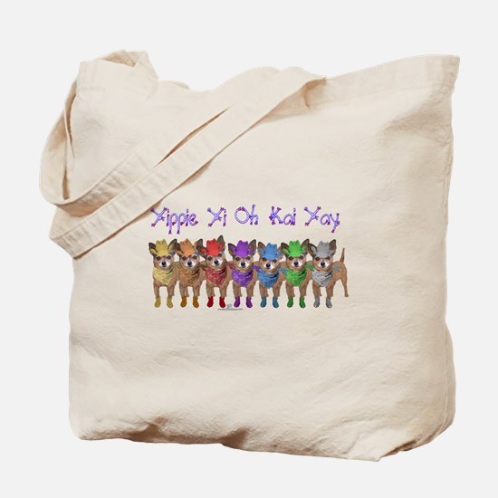 Chihuahua Cowboys Tote Bag