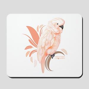 Moluccan Cockatoo Mousepad