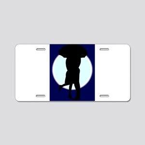 Mooning Aluminum License Plate