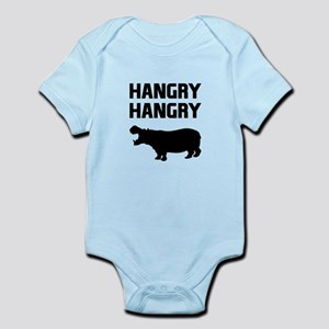 Hangry Hangry Hippos Body Suit