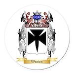 Wooton Round Car Magnet