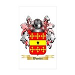 Wooster Sticker (Rectangle 10 pk)