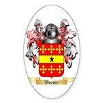 Wooster Sticker (Oval 50 pk)