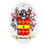 Wooster Oval Ornament