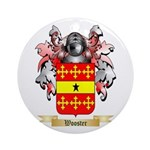 Wooster Round Ornament