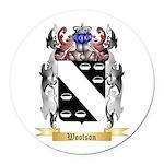 Woolson Round Car Magnet