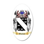 Woolson 20x12 Oval Wall Decal
