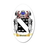 Woolson 35x21 Oval Wall Decal
