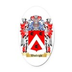 Woolright Oval Car Magnet