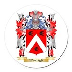 Woolright Round Car Magnet
