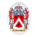 Woolright Oval Ornament