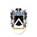 Woolley Oval Car Magnet