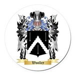 Woolley Round Car Magnet