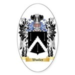 Woolley Sticker (Oval)