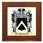 Woolley Framed Tile