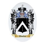 Woolley Oval Ornament