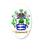 Woolfrey 35x21 Oval Wall Decal