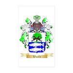 Woolfe Sticker (Rectangle 50 pk)
