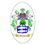 Woolfe Sticker (Oval)