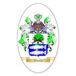 Woolfe Sticker (Oval 50 pk)