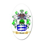 Woolfe 20x12 Oval Wall Decal
