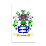 Woolfe 20x12 Wall Decal