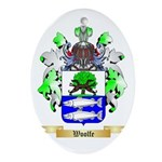 Woolfe Oval Ornament