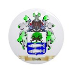 Woolfe Round Ornament