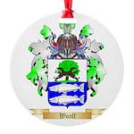 Woolf Round Ornament