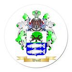 Woolf Round Car Magnet